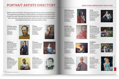 2015 Portrait Artists Directory is here!